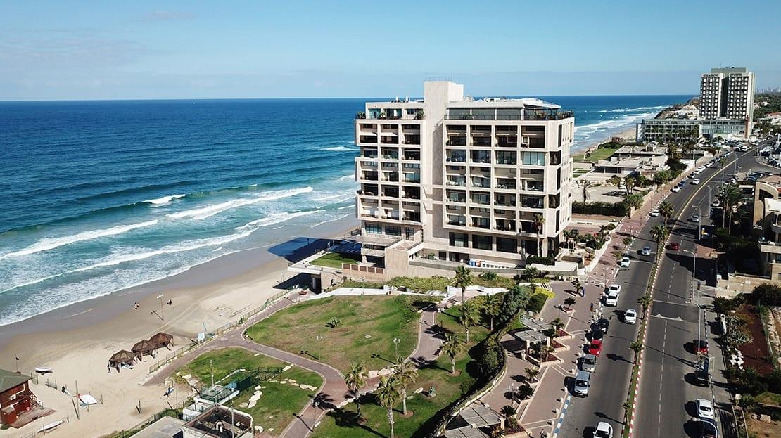 מלון על הים