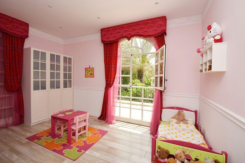 חדר של ילדה