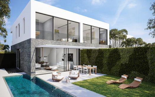 בית פרטי עם חצר ובריכה