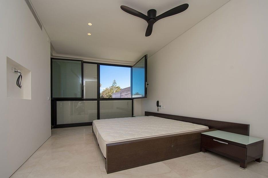 חדר שינה בדירה