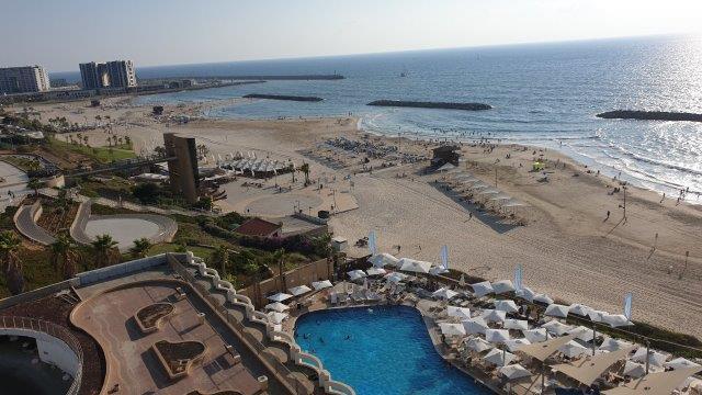 נוף הדירה ממלון דניאל